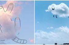 10 Gambar 'di atas' awan ini bukti kreatifnya imajinasi netizen