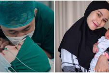 4 Momen haru Zaskia Mecca melahirkan anak kelima, penuh perjuangan