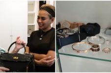 11 Potret kamar Nikita Mirzani, walk in closet penuh koleksi mewah