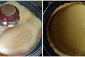 10 Potret pie susu gagal ini bikin susah nahan tawa