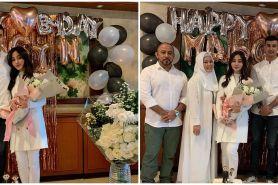 9 Momen ulang tahun Margin Wieheerm pacar Ali Syakieb