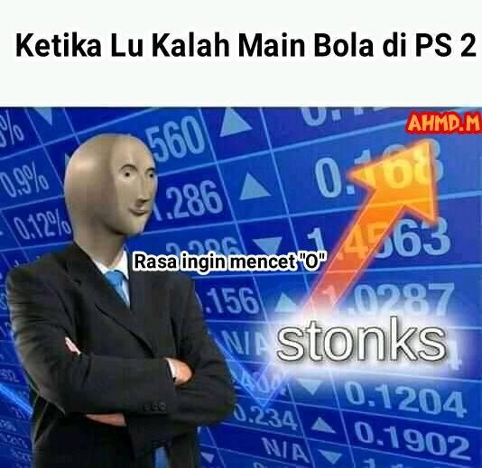 Meme main sepakbola PS Berbagai sumber