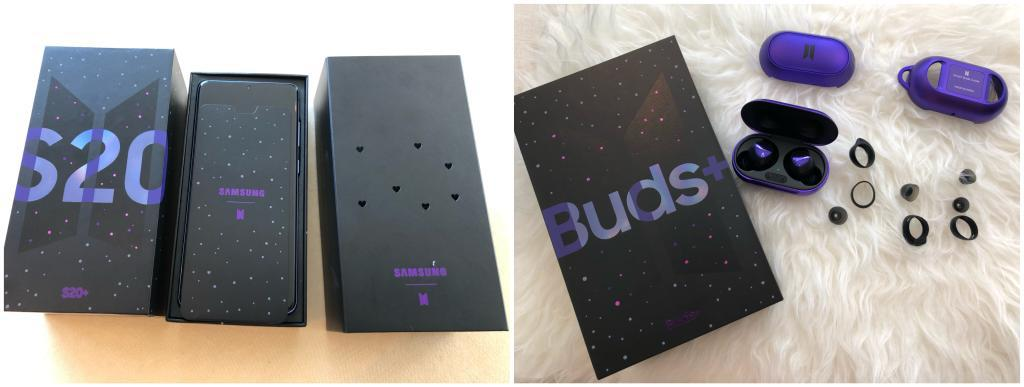 Mengulik kemewahan Samsung S20+ dan Buds+ edisi khusus BTS