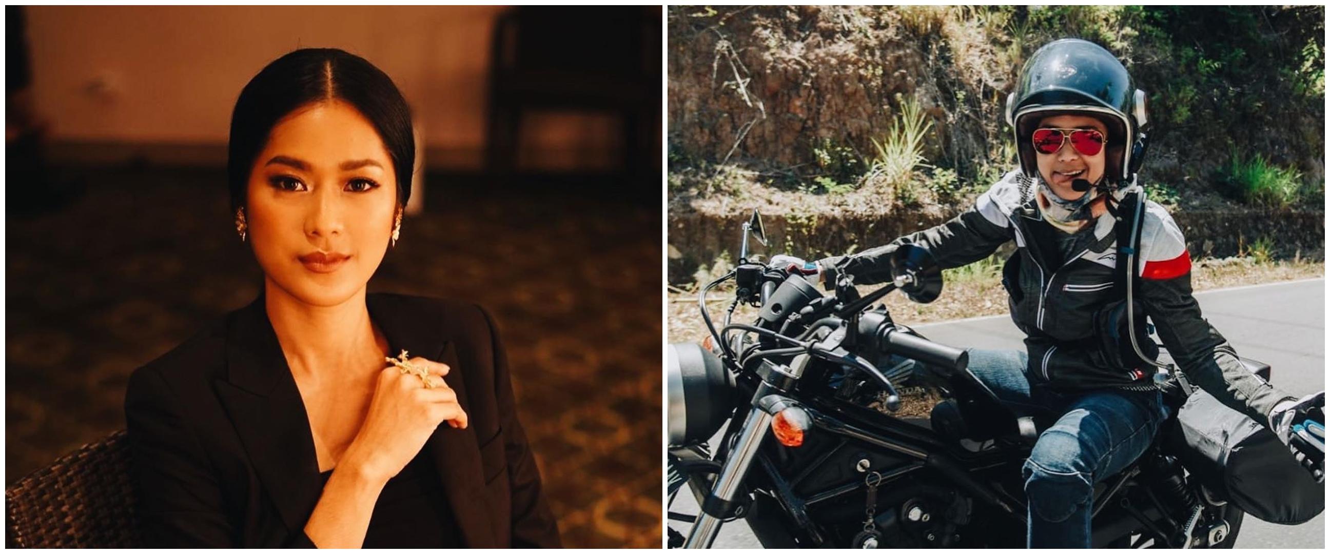 8 Gaya Prisia Nasution geber motor gede ini gahar abis