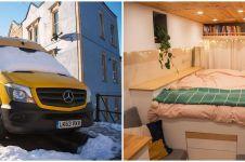 12 Transformasi mobil jadi 'rumah' berjalan, hasilnya bikin takjub
