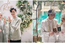 7 Pesona Dinda Hauw dari lamaran sampai menikah, cantiknya manglingi
