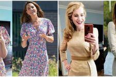 Demi tiru gaya Kate Middleton, wanita ini beli 15 baju tiap bulan