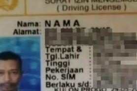 8 Nama unik di SIM ini cuma ada di Indonesia