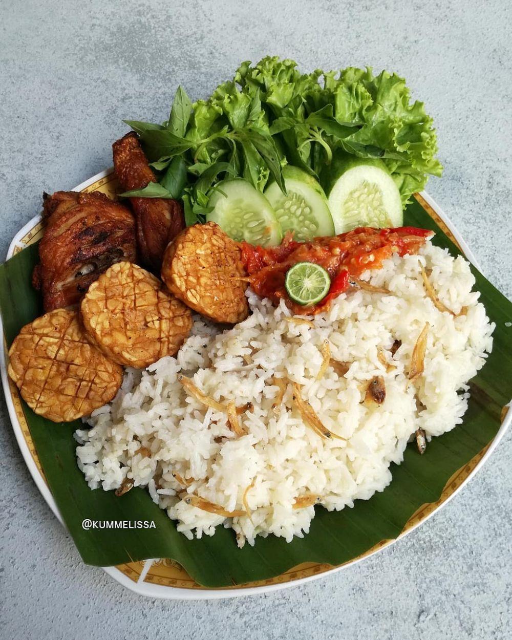 Resep kreasi nasi © 2020 brilio.net