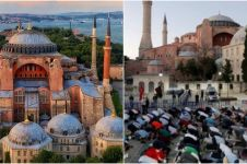 5 Fakta sejarah Hagia Sophia di Turki, kini kembali jadi masjid