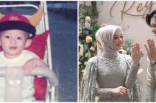 6 Transformasi Rey Mbayang dari kecil hingga jadi suami Dinda Hauw