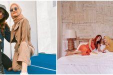 8 Potret persahabatan Dinda Hauw & Sheila Rizkyana, kompak
