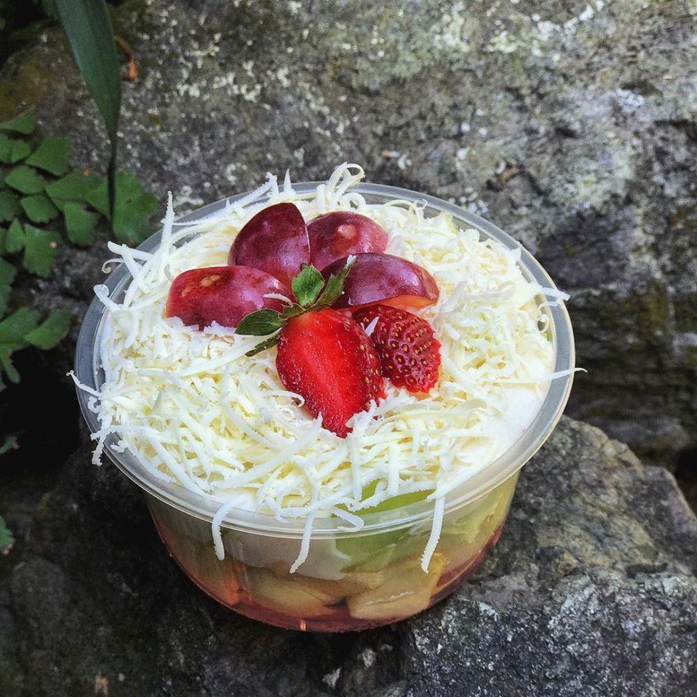 salad buah dijual instagram