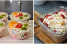 23 Cara membuat salad buah untuk dijual, sehat dan praktis