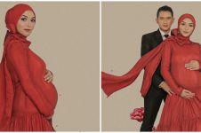 10 Gaya maternity Citra Kirana dan Rezky Aditya dalam berbagai tema