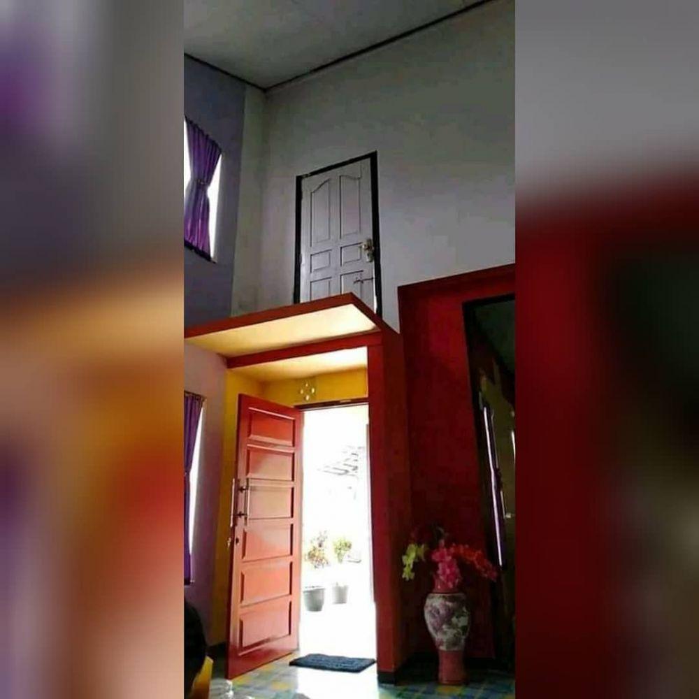 penampakan benda salah pasang di rumah © 2020 instagram.com