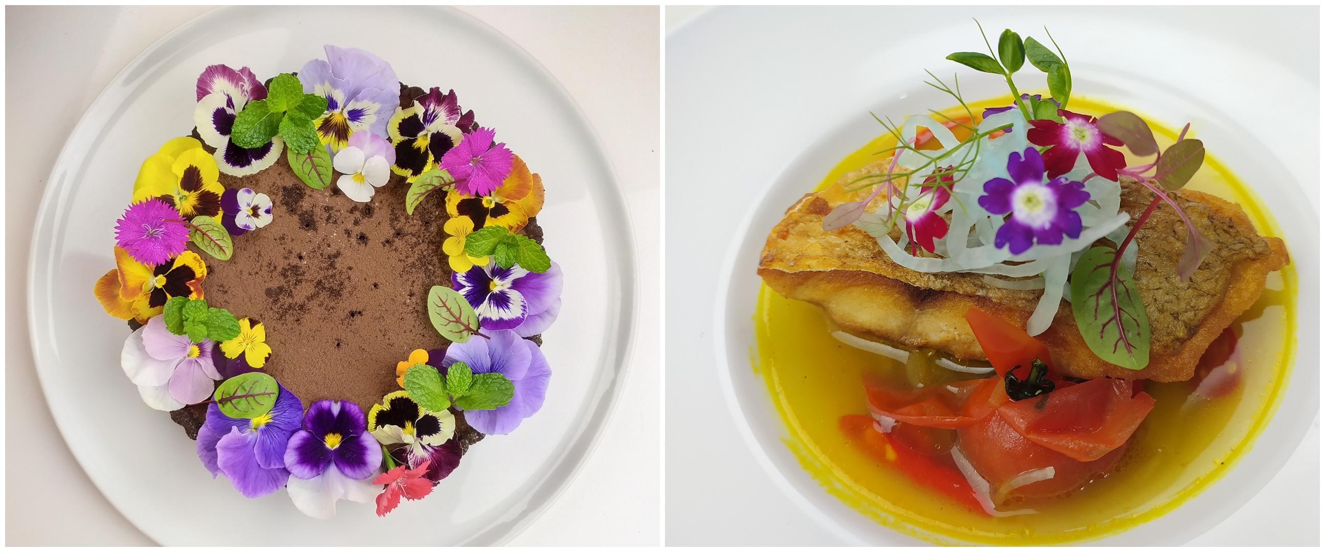 Edible flower, sentuhan estetis bunga pada kuliner Nusantara