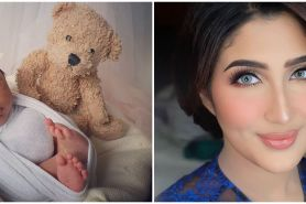 9 Potret gemas bayi Tania Nadira & Abdulla Alwi, parasnya Arab banget