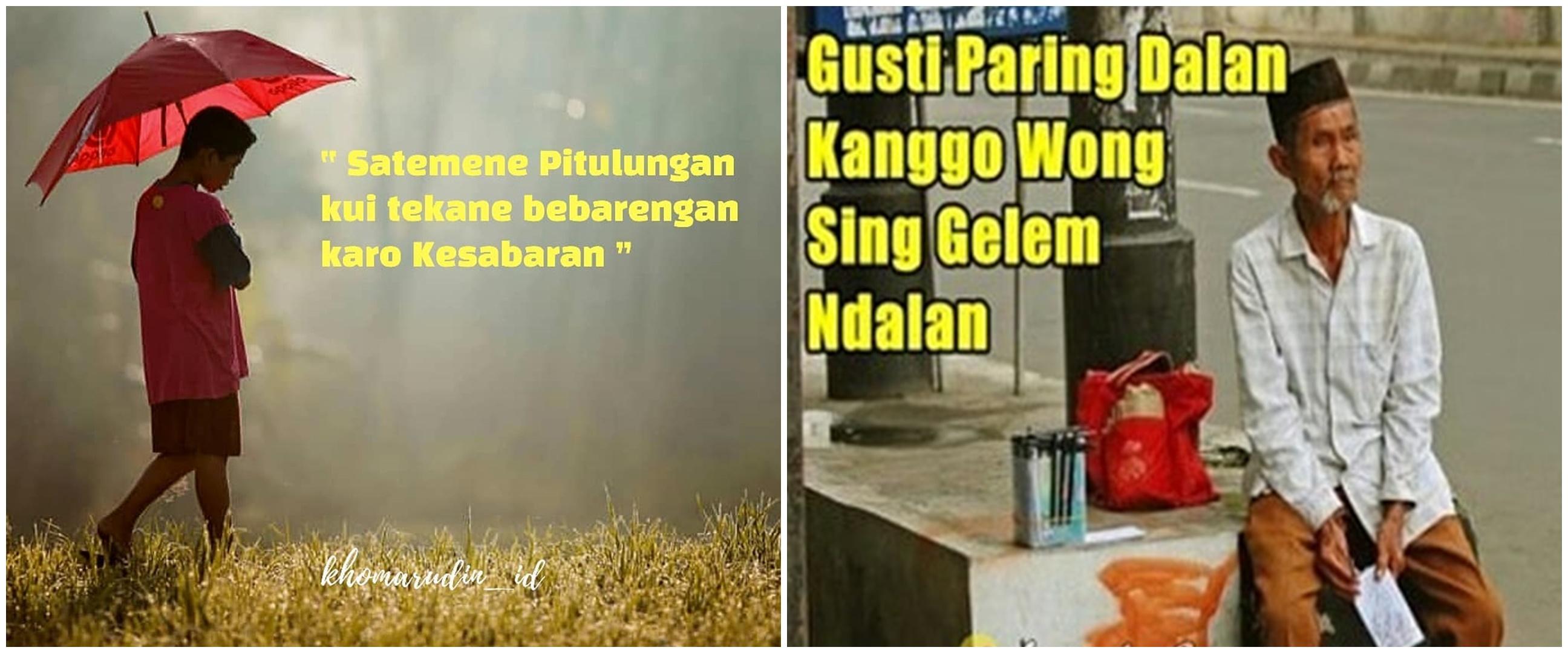 40 Kata-kata bijak sabar bahasa Jawa, penuh makna mendalam