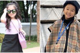 9 Gaya Thalia Onsu dengan barang branded, stylish dari kecil