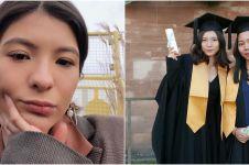 6 Momen Shalom Razade anak Wulan Guritno wisuda di luar negeri