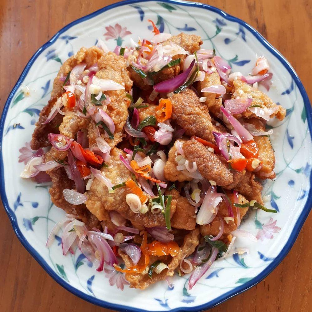 Resep olahan kulit ayam © 2020 brilio.net
