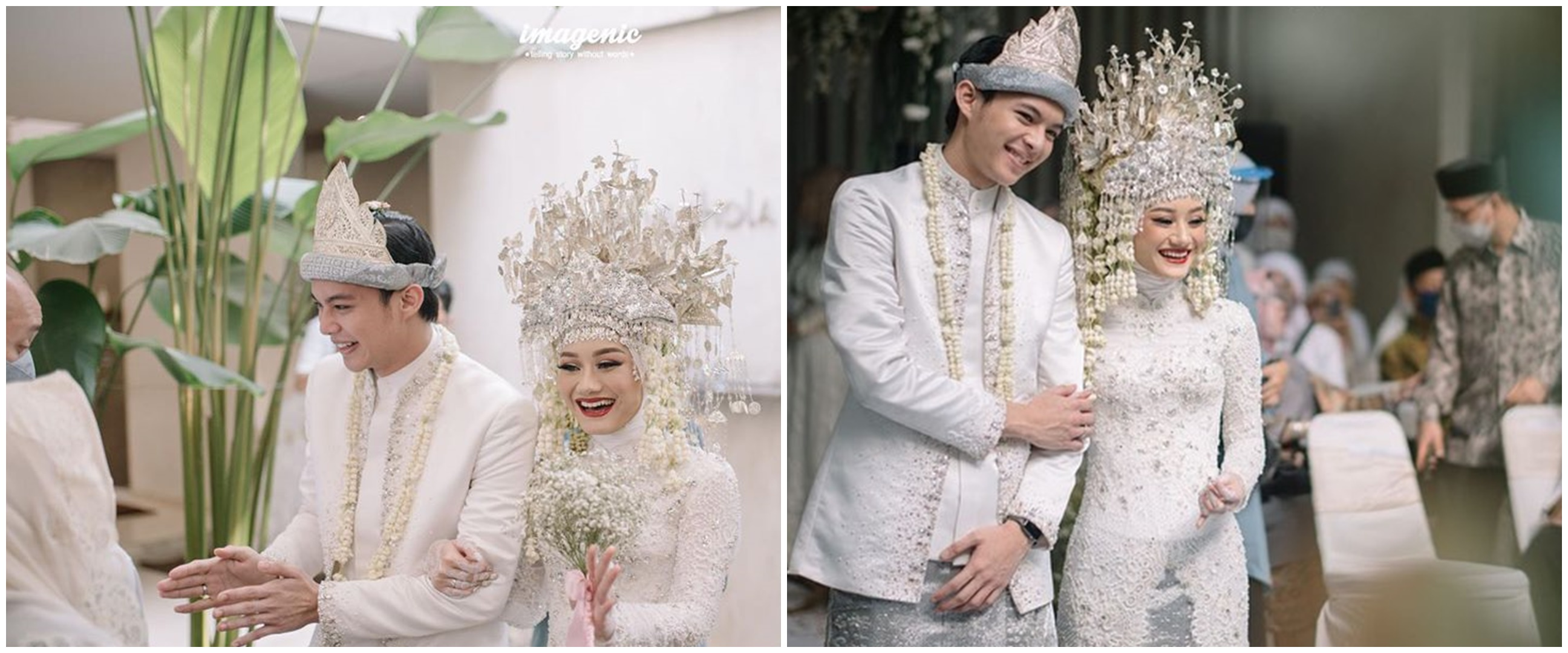 9 Gaya post-wedding Dinda Hauw & Rey Mbayang, simpel tapi elegan