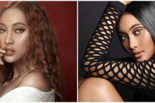 10 Gaya pemotretan Novia Bachmid Idol, menawan ala Beyonce