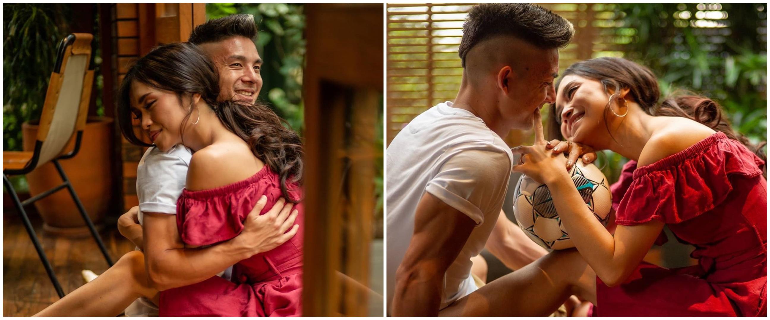 6 Potret kehamilan Elisa Novia istri Kim Kurniawan, bertema kasual