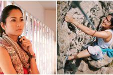 8 Potret Prisia Nasution olahraga ekstrem, silat hingga panjat tebing