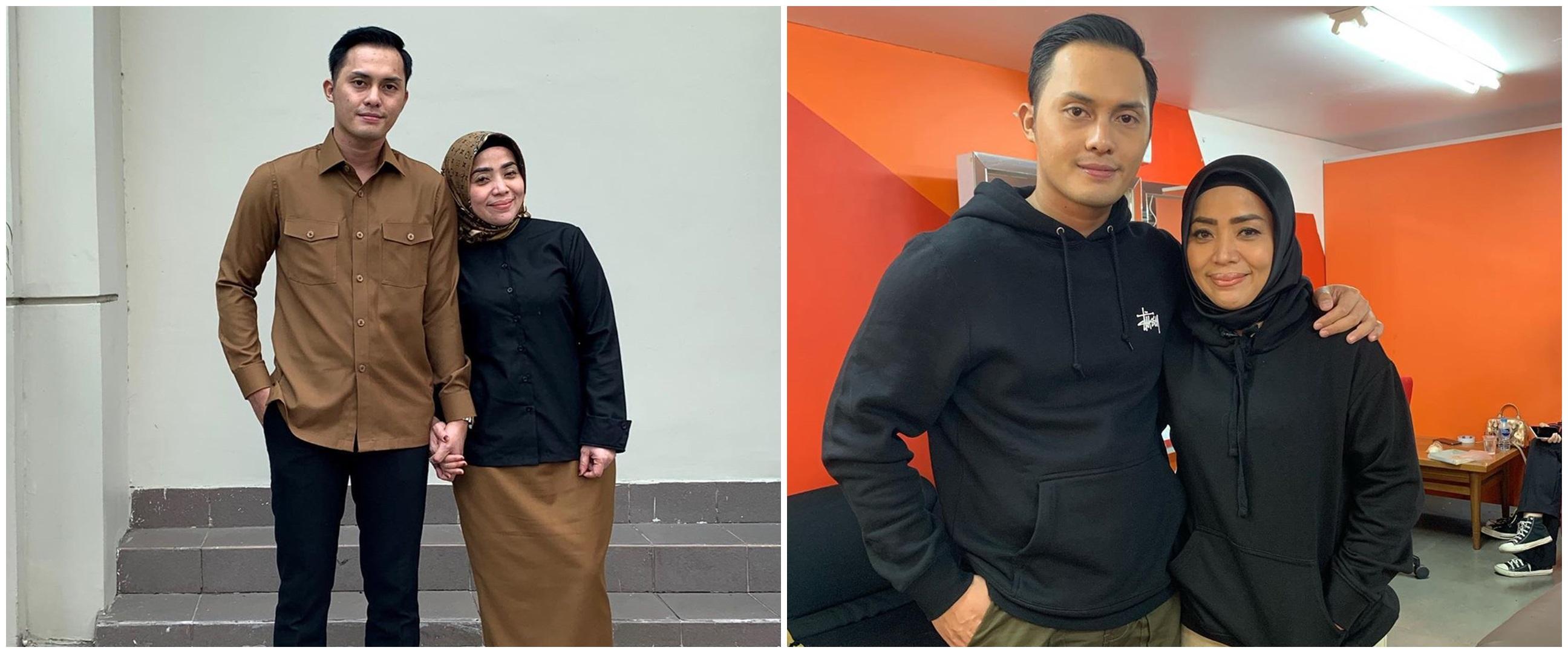 9 Gaya Muzdalifah & Fadel Islami pakai baju couple, curi perhatian