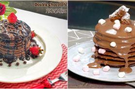 8 Resep pancake cokelat sederhana, enak, lembut, dan antigagal