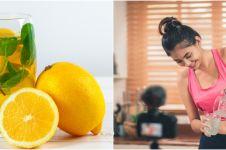 9 Manfaat infused water lemon untuk kesehatan, menurunkan berat badan