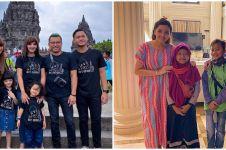 10 Potret kedekatan Ashanty & 3 anak angkatnya, penuh kasih sayang