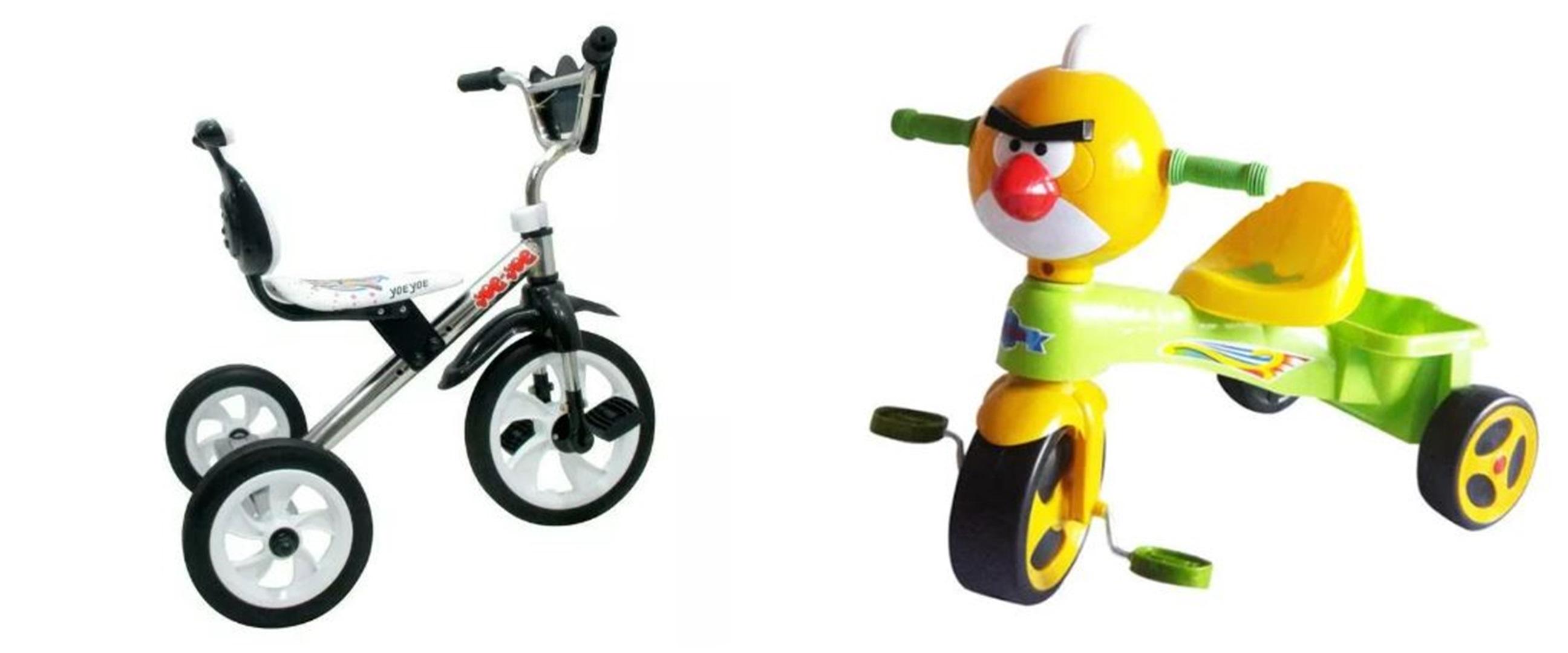 Harga sepeda roda tiga berbagai merek di bawah Rp 1 juta