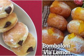 8 Resep bomboloni, donat ala Italia yang enak, lembut, & super empuk