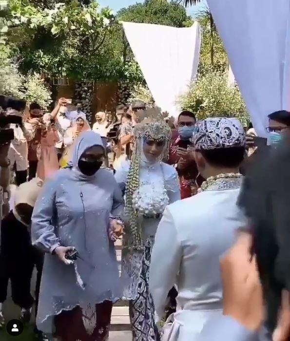 Rizki DA menikah © 2020 brilio.net