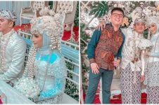 9 Momen pernikahan Rizki D'Academy dan Nadia, penuh kebahagiaan