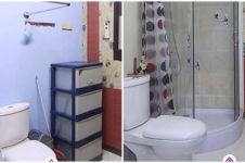 Potret kamar mandi di dalam kost ini antimainstream, bikin tepuk jidat