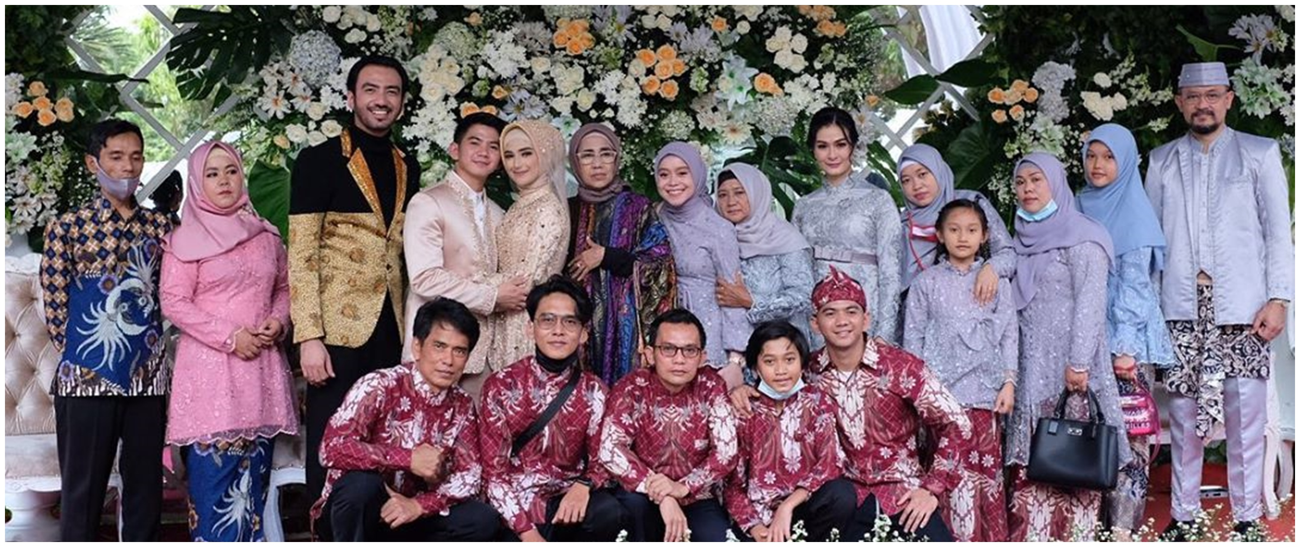 6 Momen Lesty Kejora hadiri pernikahan Rizki D'Academy, panen pujian