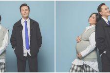 6 Potret maternity Ussy Sulistiawaty hamil anak ke-5, bergaya Korea