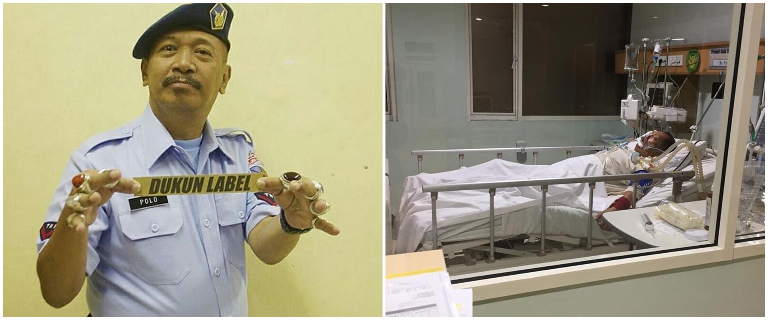 5 Fakta kondisi Polo Srimulat dirawat di ICU, sakit paru-paru