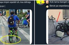 10 Meme lucu orang bersepeda ini absurdnya bikin geleng kepala