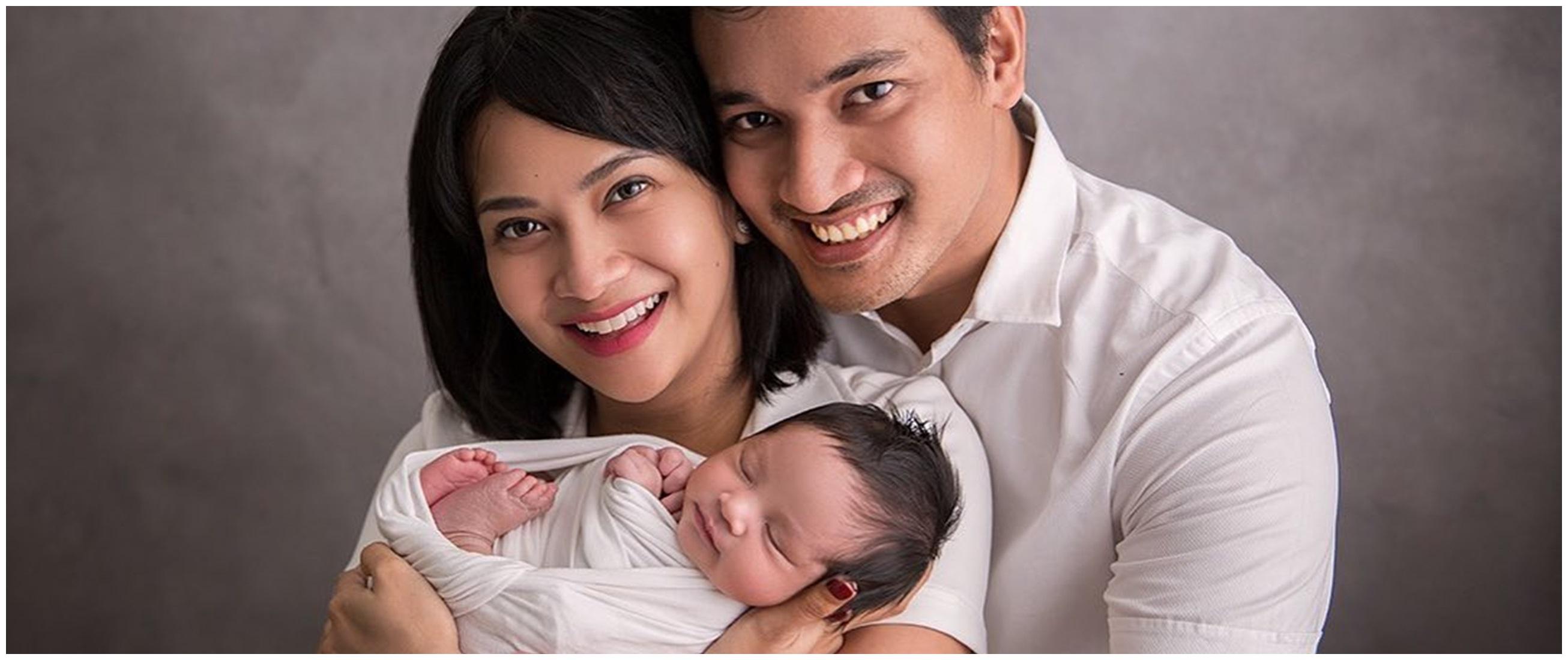 6 Pemotretan newborn anak Vanessa Angel, gemesinnya kebangetan