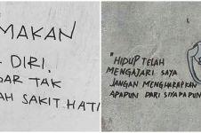 10 Tulisan tembok galau soal cinta ini lucunya bikin nyesek