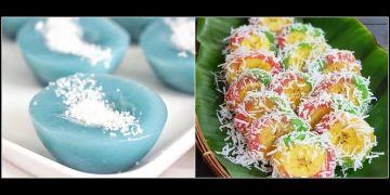 8 Resep aneka kue tabur kelapa, gurih, enak, dan mudah dibuat