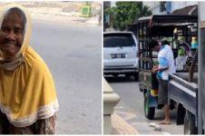 Kisah nenek renta dipaksa anaknya jualan salak keliling kota