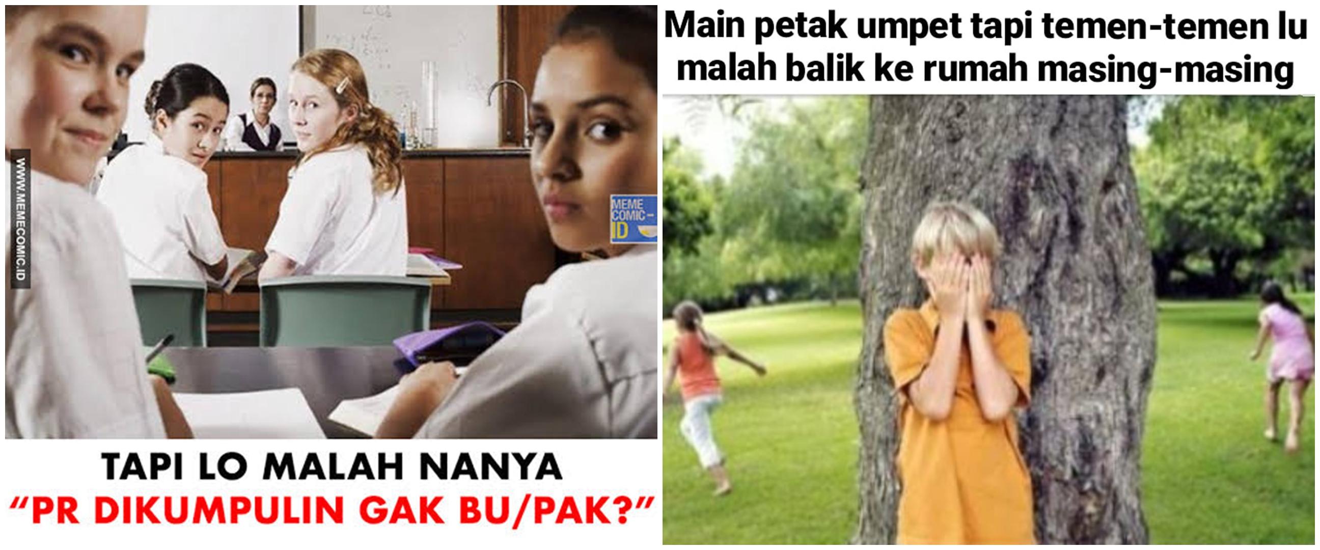 10 Meme lucu momen ngeselin semasa kecil, bikin geregetan