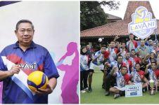 7 Momen SBY dampingi klub bola voli binaannya, penuh dukungan