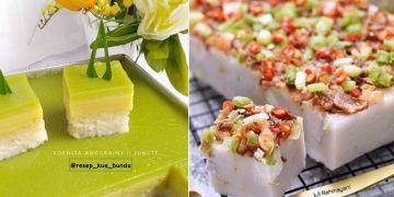 10 Resep aneka kue talam dari berbagai bahan, enak dan ekonomis